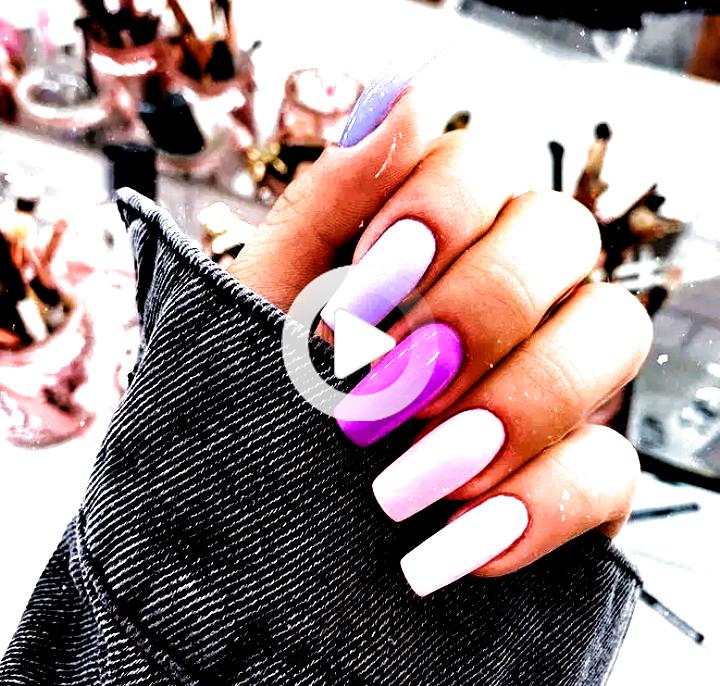 39 romantic pink acrylic nail design that looks classy 36 » Beneconnoi