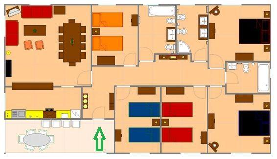 Plano De Casa Grande De 5 Dormitorios En 350 M2 Planos De Casas Grandes Planos De Casas Casas Grandes