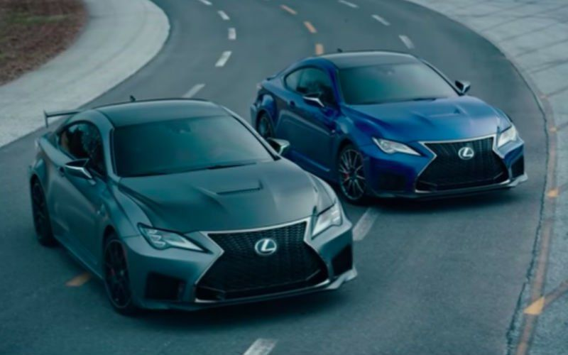 Lexus Rc F Gets New 2020 Street And Track Editions Lexus New And Used Cars Sports Coupe