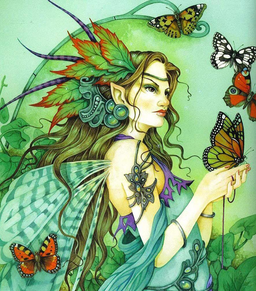 Linda Ravenscroft | Fantasia | Pinterest