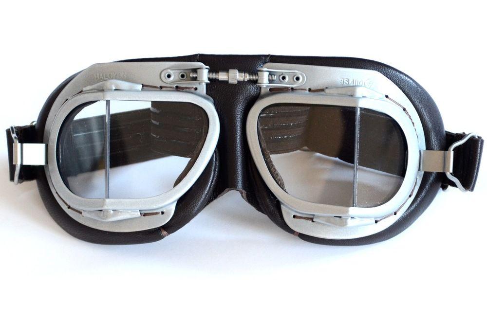 f375a1e9f0 Halcyon Mark 9 Deluxe Brown Goggle