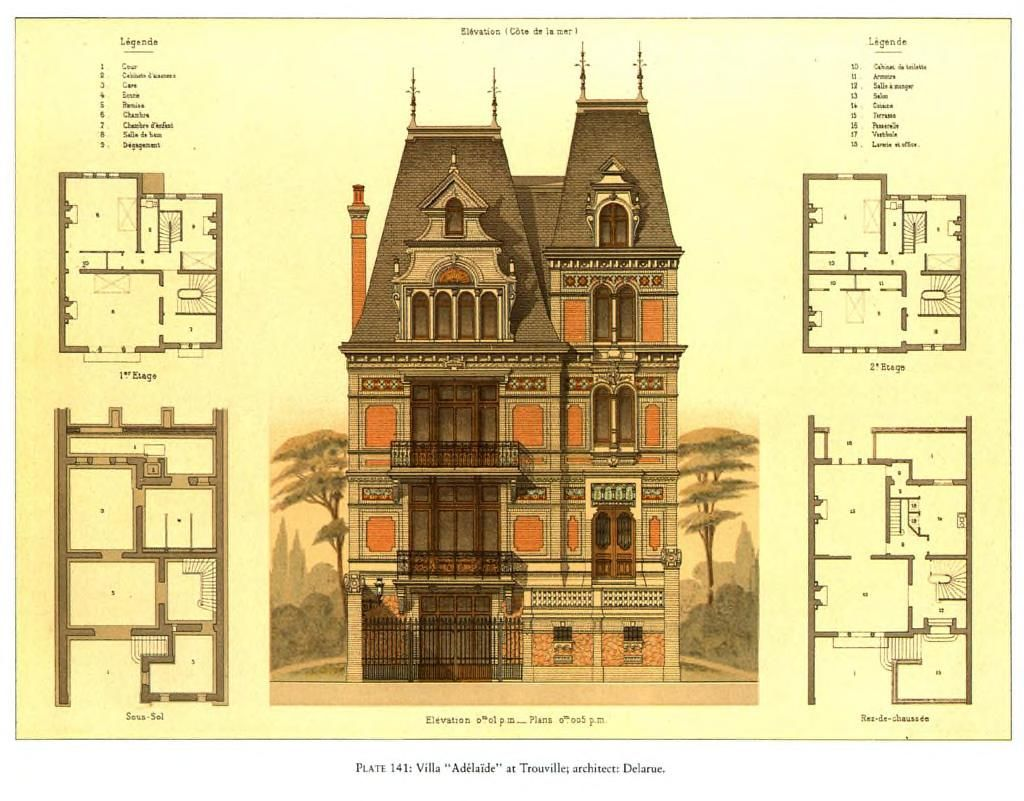 for Victorian era house plans