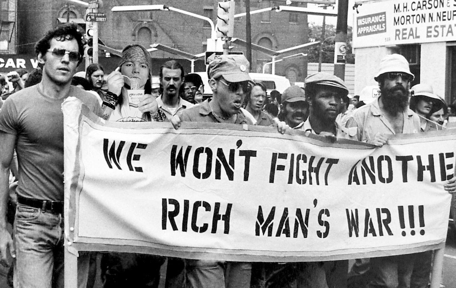 Image result for rich man war