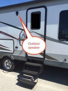 Jayco travel trailer outdoor speaker