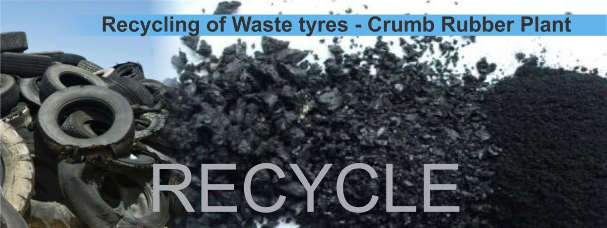 Recycling of waste tyre in india by anjaliexim Recycling