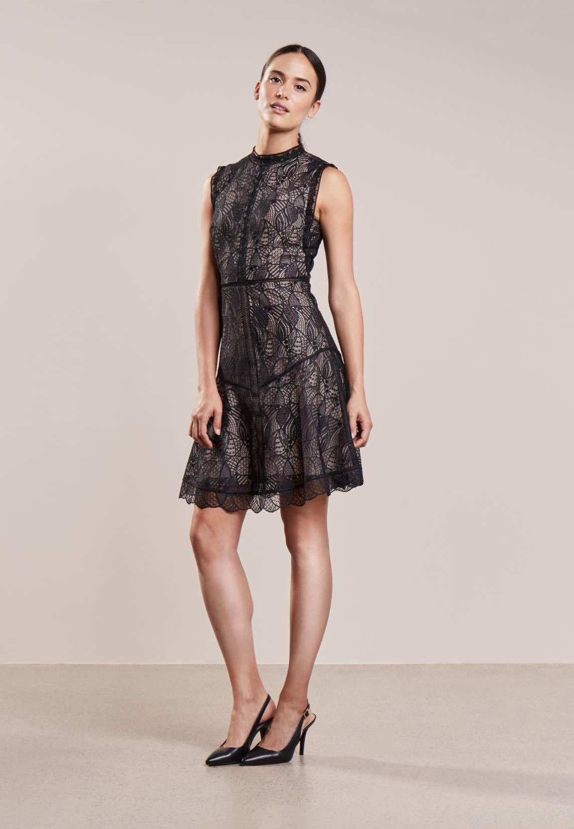 TORI - Cocktailkleid/festliches Kleid - black | Reiss and Black