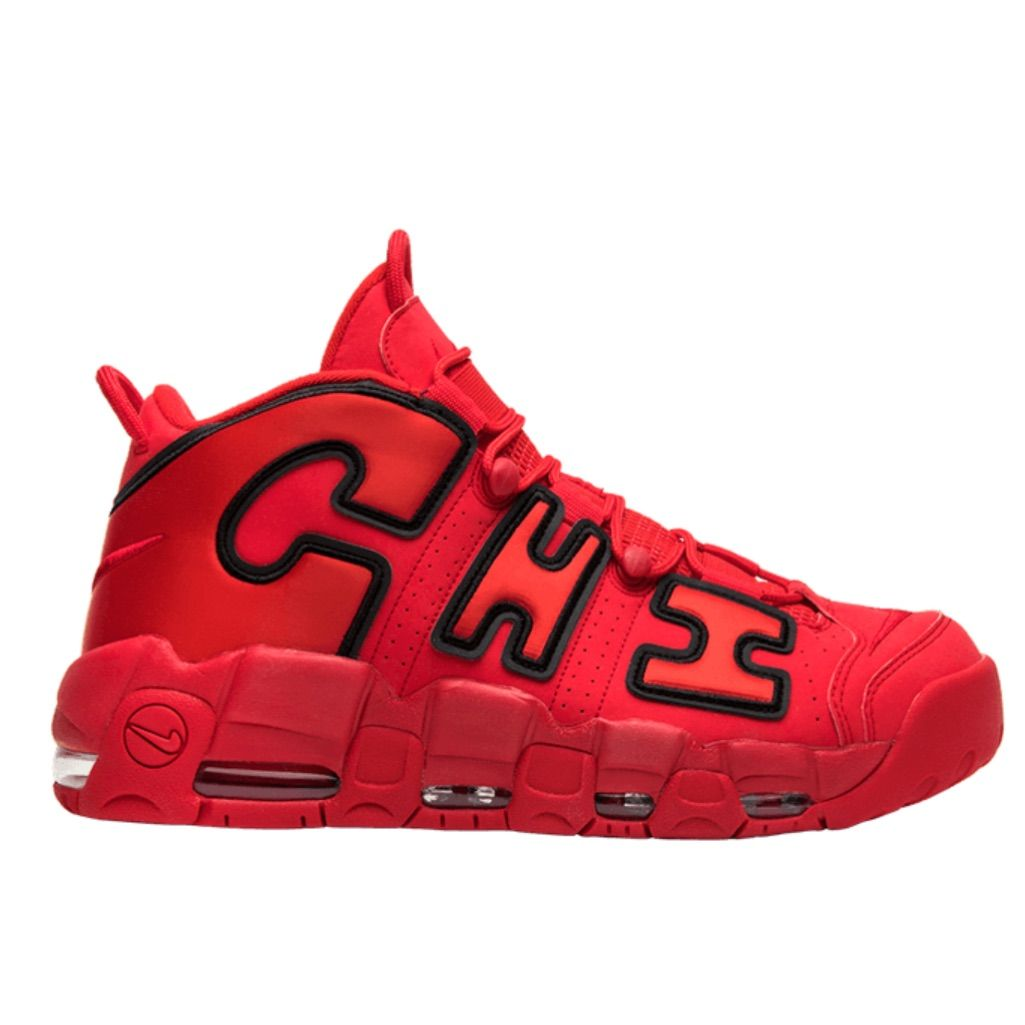 4c8a75a52cedc Nike Shoes | Brand New Nike Air More Uptempo Chi | Color: Black/Red ...