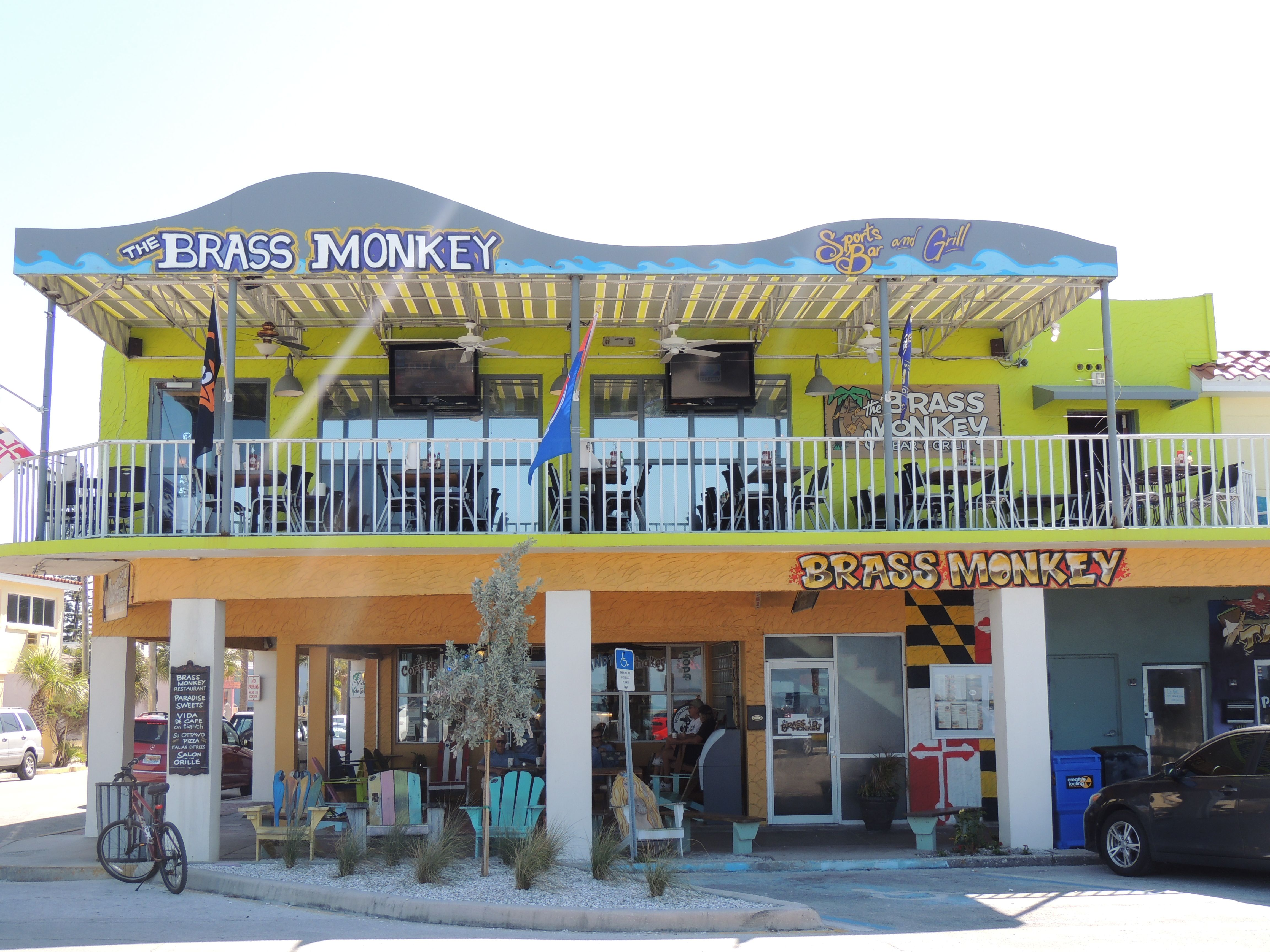 The Brass Monkey Bar and Grill .. Pass A Grille .. Florida