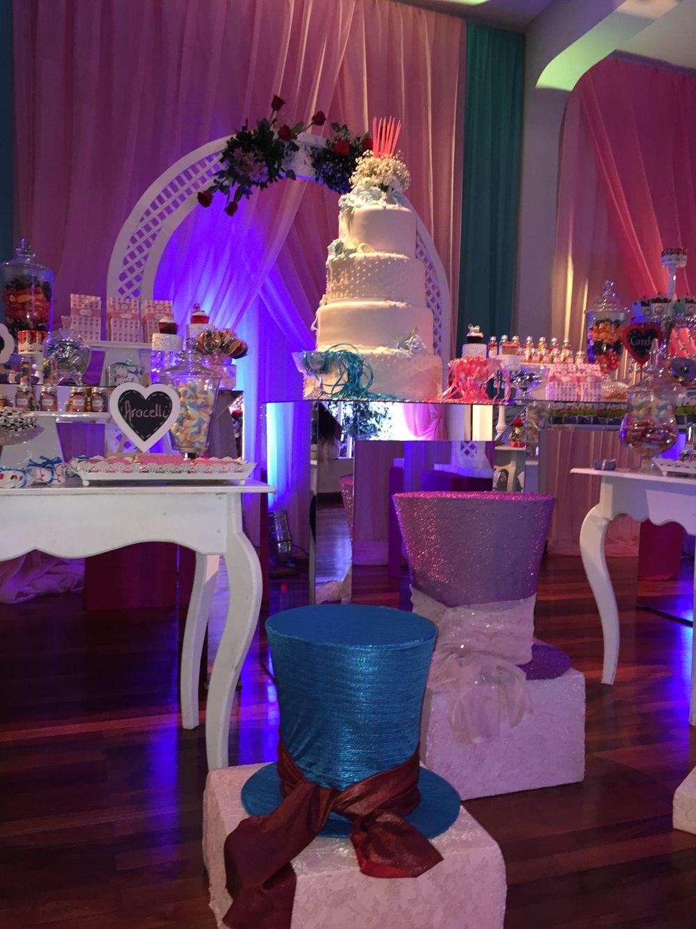 Cumpleaños 15 Años Temática Alicia En El País De Las Maravillas Alice In Wonderland Party Birthday Parties Birthday Party Decorations
