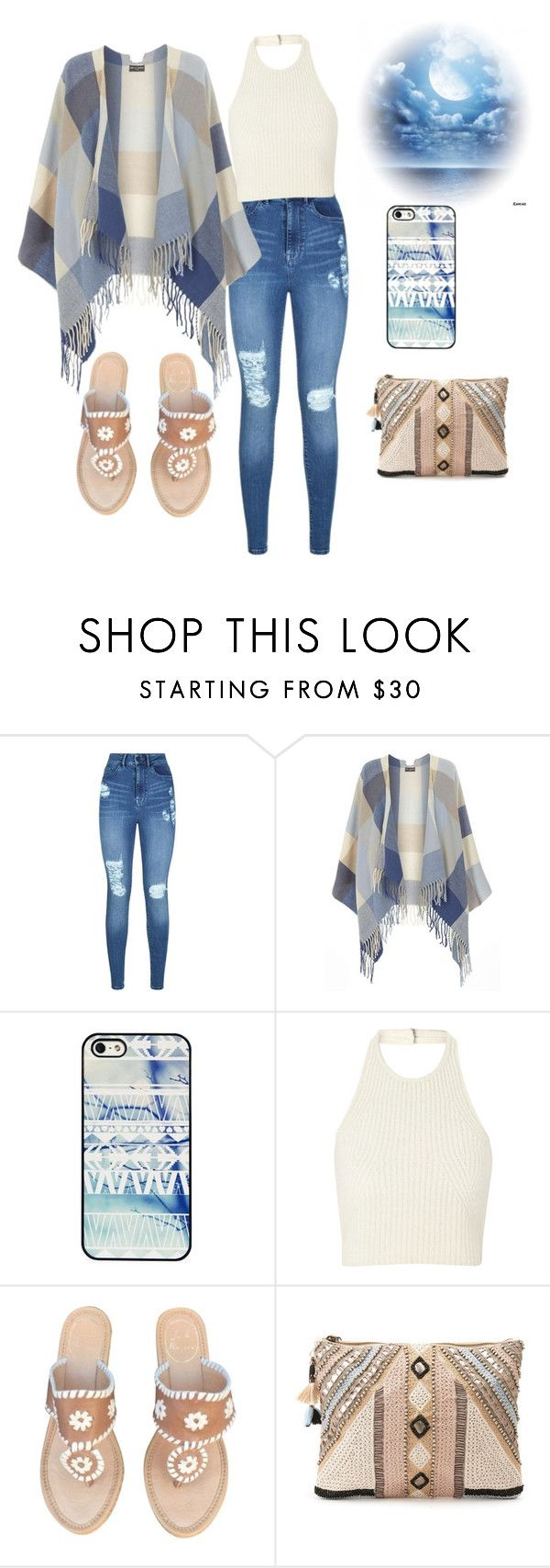 """""""The Casuals"""" by kimberlydalessandro ❤ liked on Polyvore featuring Lipsy, Dorothy Perkins, BlissfulCASE, Jack Rogers and BLANK"""