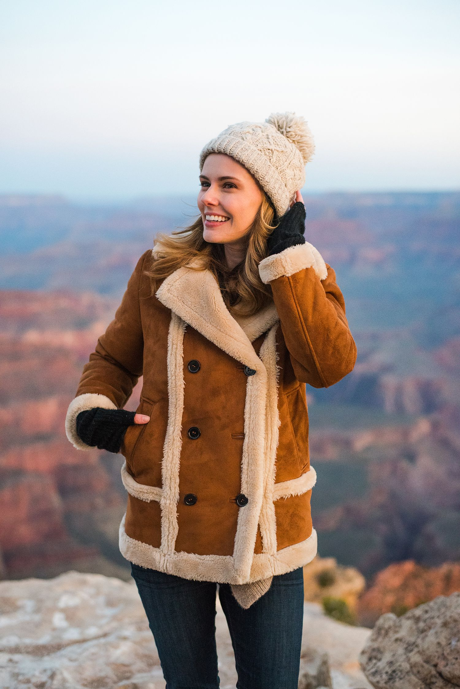 Topshop Coat Grand Canyon The A List Fall Winter