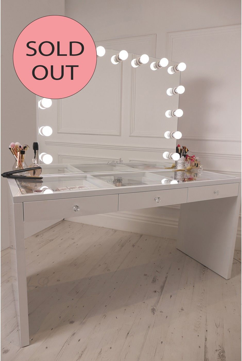 vanity dressing table with drawers. OUT OF STOCK  LULLABELLZ SLAYSTATION XL Pro Vanity Dressing Table