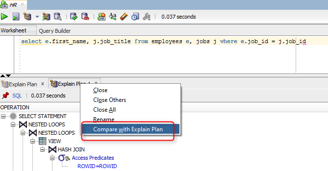 How To Generate Explain Plan In Sql Developer Catgovind How To Plan Sql Development