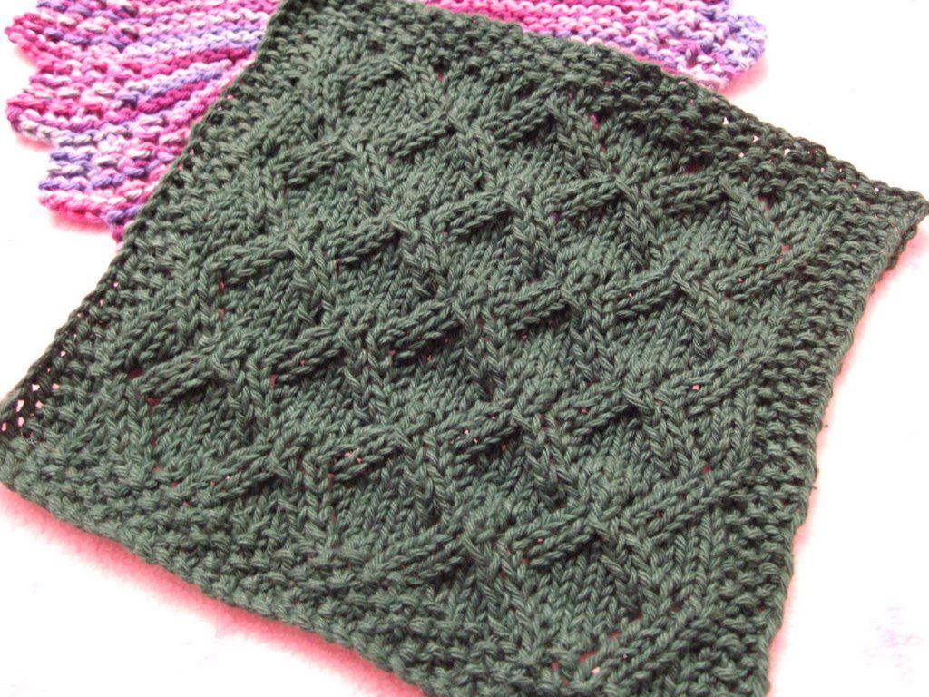 Diamond lace washcloth pattern needles and hooks pinterest diamond lace washcloth pattern bankloansurffo Choice Image