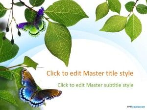 Free nature leaves ppt template places to visit pinterest ppt free nature leaves ppt template toneelgroepblik Choice Image