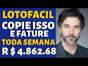 GANHAR DINHEIRO R$ 4.862,68 TODA SEMANA NA LOTOFAC...