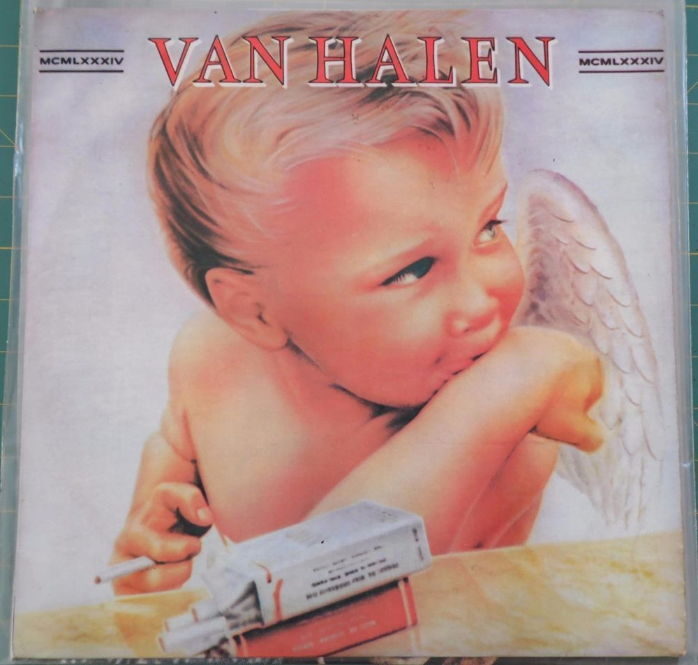 55bdb68034f VAN HALEN MCMLXXXIV 1984 Portugal Rare Vinyl 33 Lp Album Record Rock  7599239851  HardRock