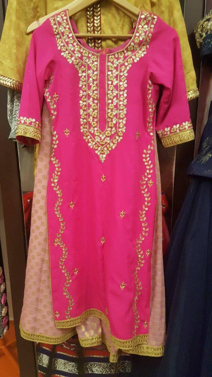 Hot pink wedding dress for punjabi wedding | Suits | Pinterest | Hot ...