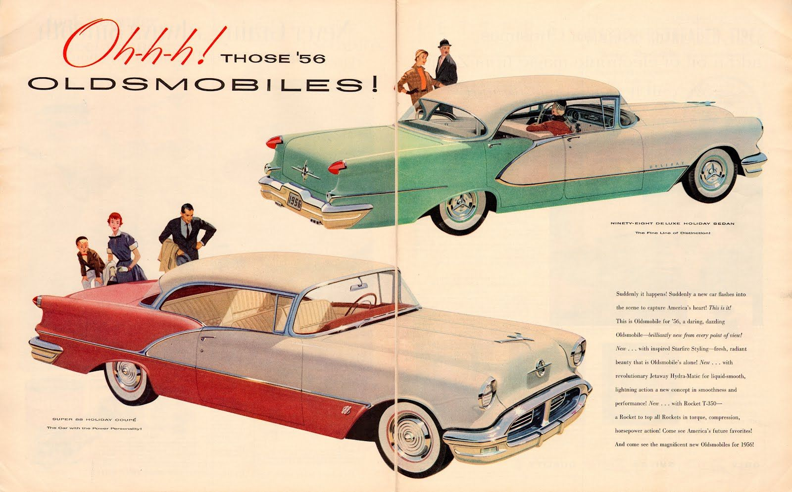 1956_oldsmobiles_ad.jpg (1600×994)   Vintage Ads, Posters, and Other ...