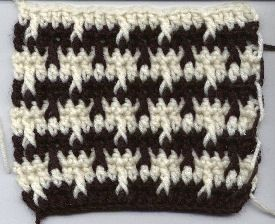 Houndstooth or herringbone stitch free crochet pattern crazy houndstooth or herringbone stitch free crochet pattern dt1010fo