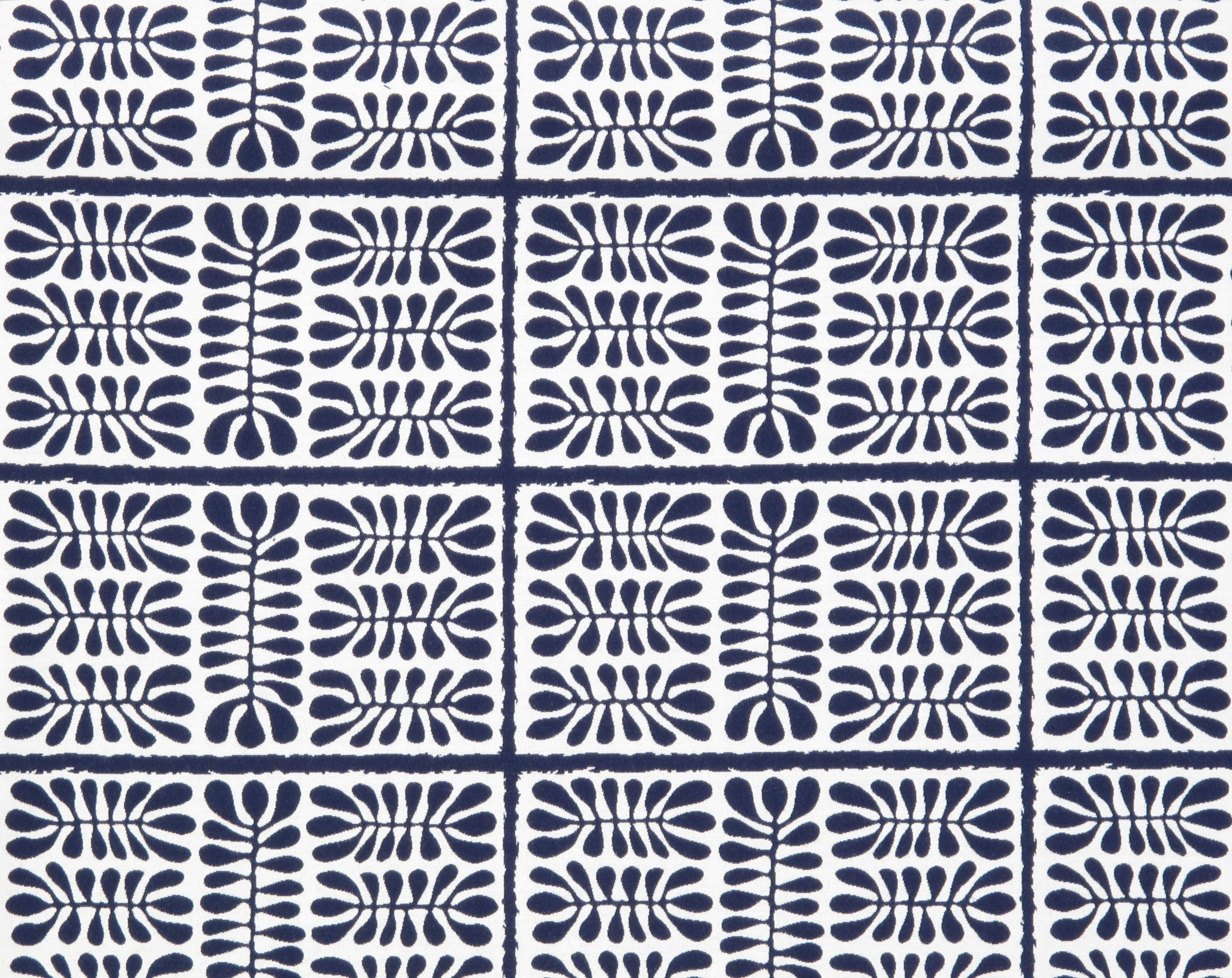 Dancing Matisse in Navy Blue from Old World Weavers/Stark
