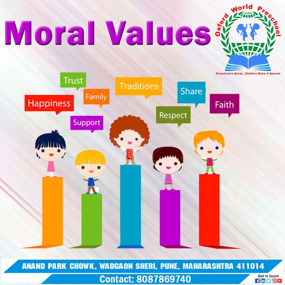 Moral Values Learning Colors Moral Values Morals [ 1080 x 1080 Pixel ]