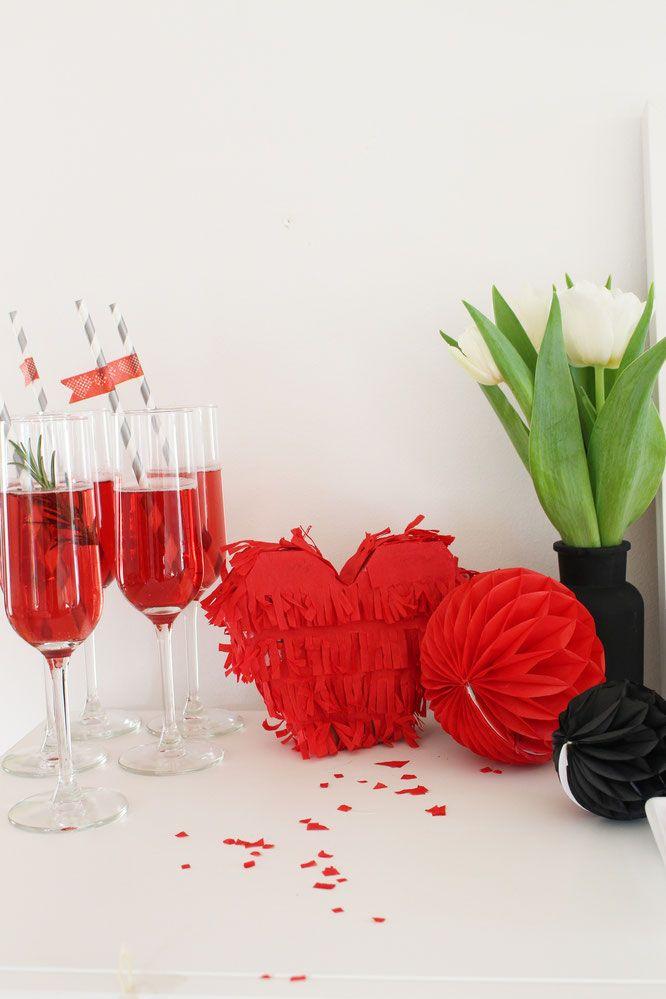 Pinata Herz Xxl Hochzeit Geburtstag Geldgeschenk 60 X 55 Cm Wein