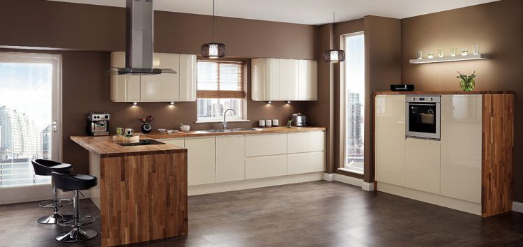 Best 10 Beautiful Kitchens With Brown Walls Contemporary 640 x 480