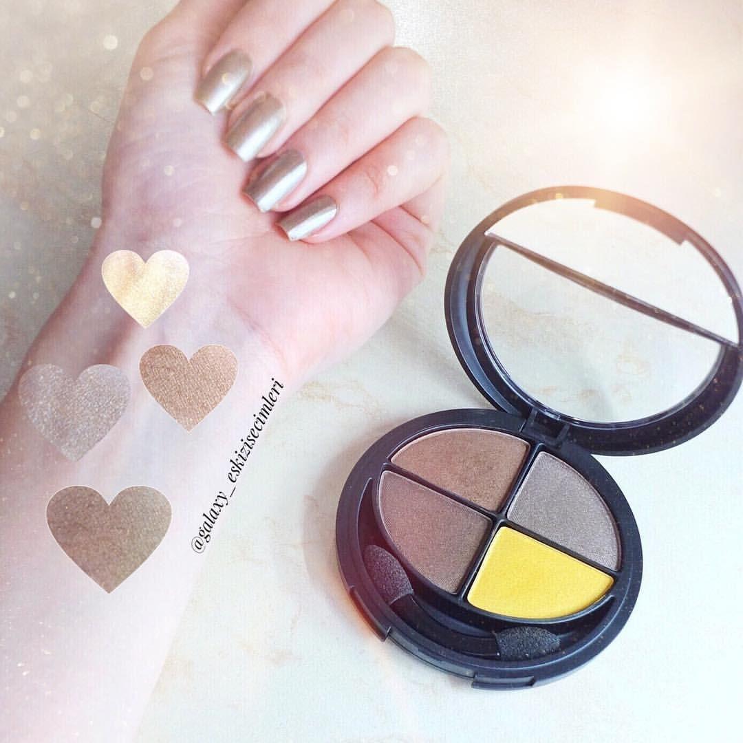 """163 Beğenme, 7 Yorum - Instagram'da Galaxy Eskizi ,Merve, WMakeup (@galaxy_eskizisecimleri): """"Tatlı Akşamlar 💕. . @flormarturkiye ye ait bu far paletindeki sarı icin bittim diyebilirim cok…"""""""