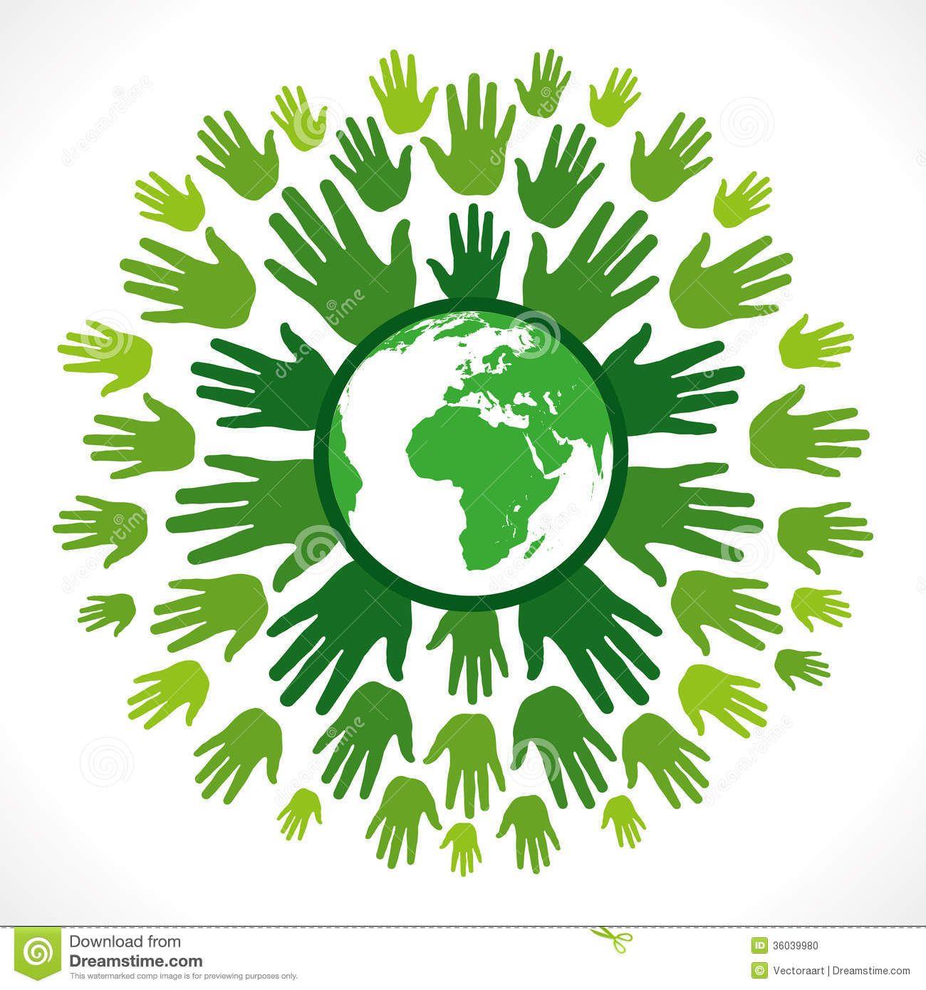 Save Earth Conceptual Recycling Symbol Stock Photos