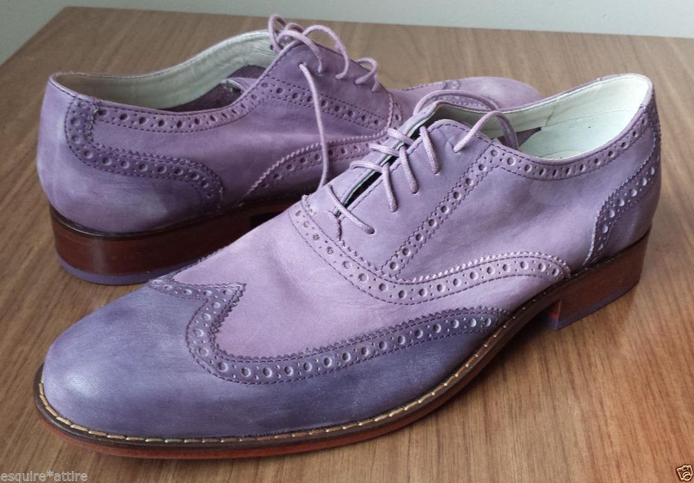 Cole Haan Men Size 10 M casual shoes Nike AIR Colton Casual Wing Tip Grape  color 9d601340168