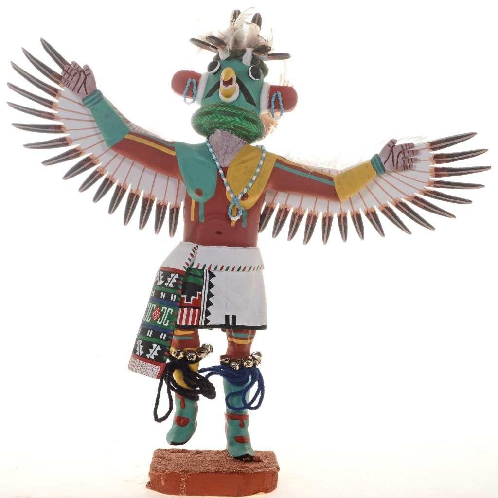 Eagle dancer kachina doll 27016 alltribes the eagle symbol eagle dancer kachina doll 27016 alltribes biocorpaavc Gallery