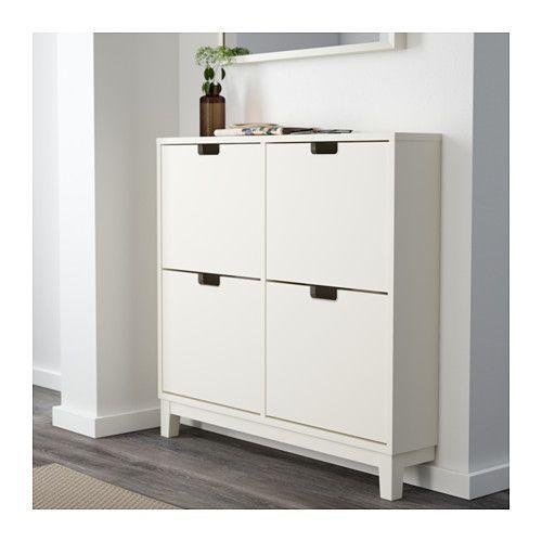 Stall Skoskap 4 Fack Vit 96x90 Cm Ikea In 2020 Shoe Cabinet Ikea Ikea Finds