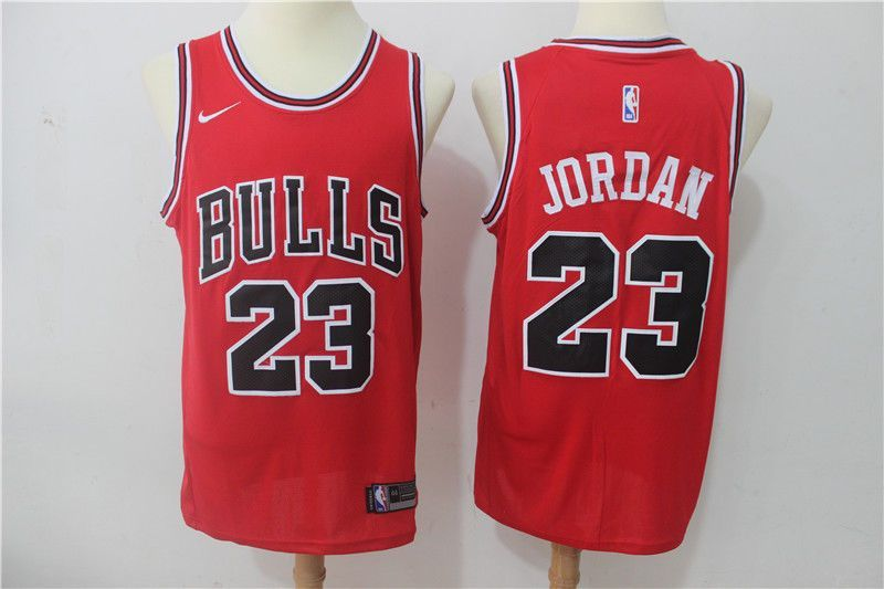 purchase cheap f365b 6541a ebay link) chicago bulls Michael Jordan red jersey L sz ...