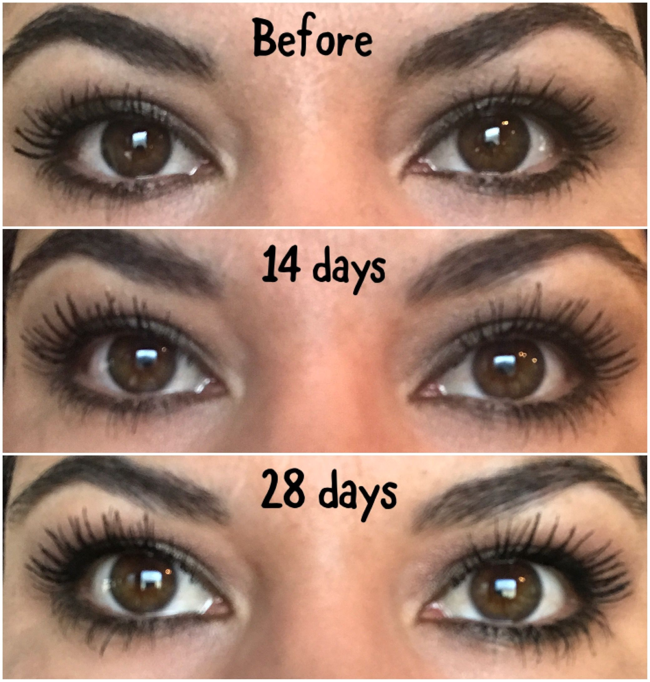 My personal results on MONAT'S EYE WONDER!! Apply 2x's a