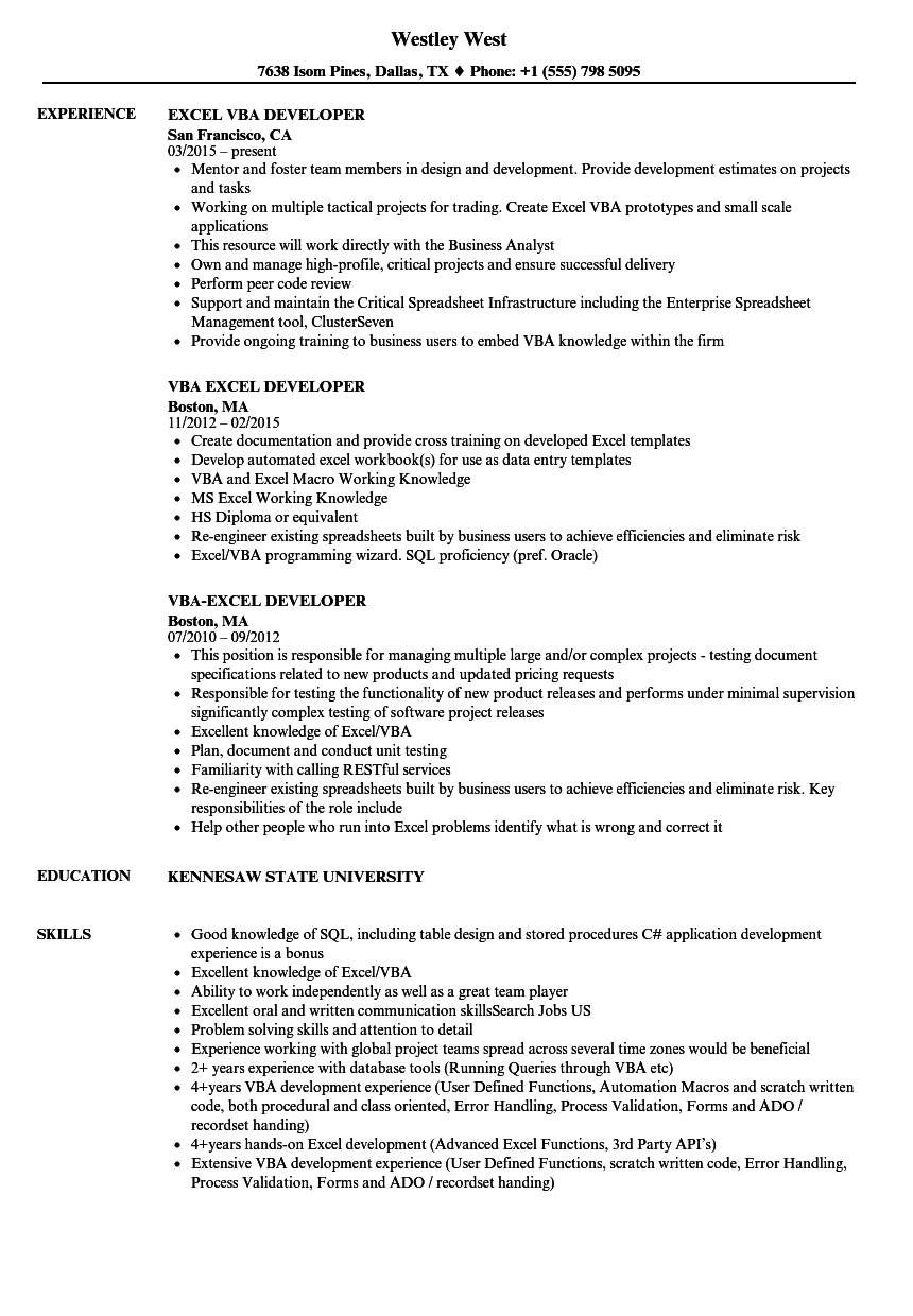 Resume Templates Excel 4 Templates Example Templates Example Resume Skills Resume Templates Job Resume Examples
