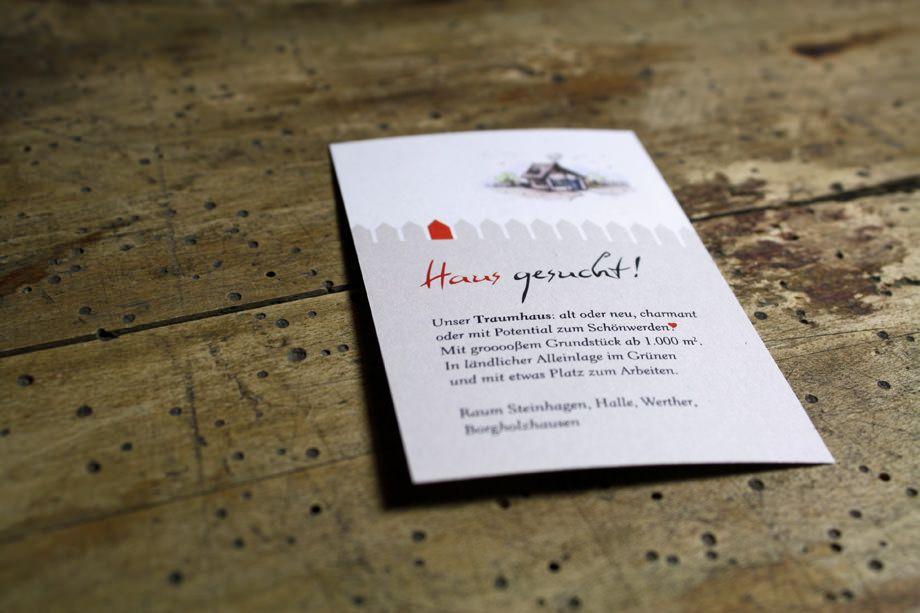 Annika Gandelheid Hg Medien Mein Portfolio Schwerpunkt Print Haussuche Karten Einladung Visitenkarten
