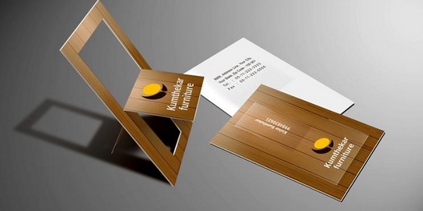 folded business card templates