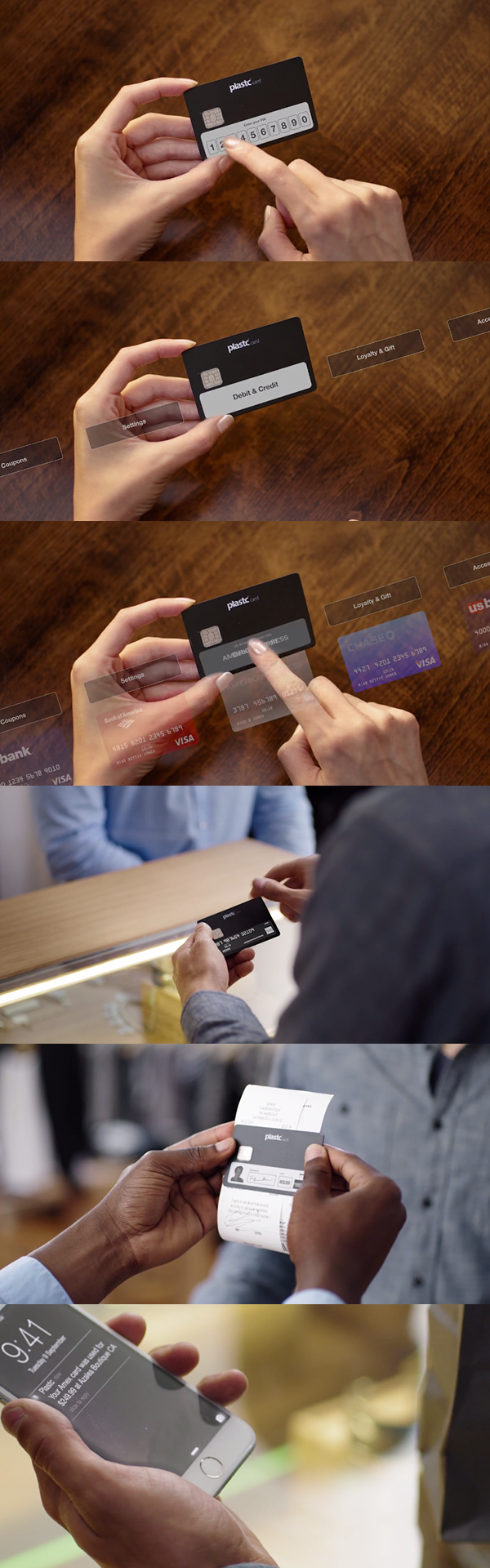 All cards on one card - Plastc The All In One Card That Could Replace Your Wallet