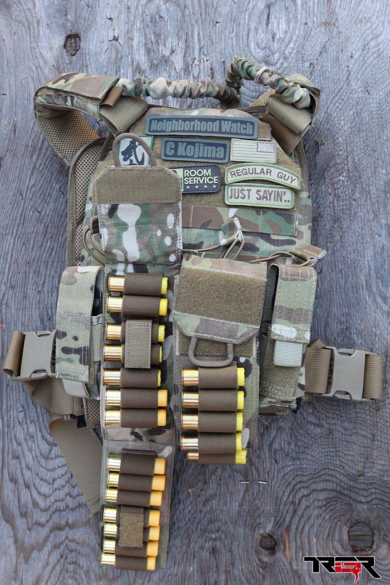 Tyr Shotgun Shell Carrier Gear Tactical Gear Plate
