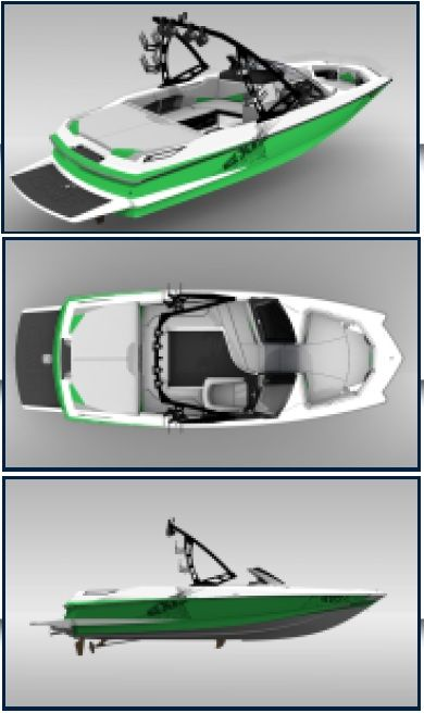 Axis A20 Wakeboard Wakesurf Wakeskate Boat