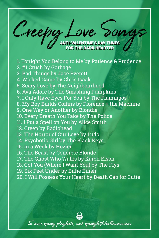 Halloween Playlists 2020 Creepy Love Songs   Spooky Little Halloween in 2020 | Halloween