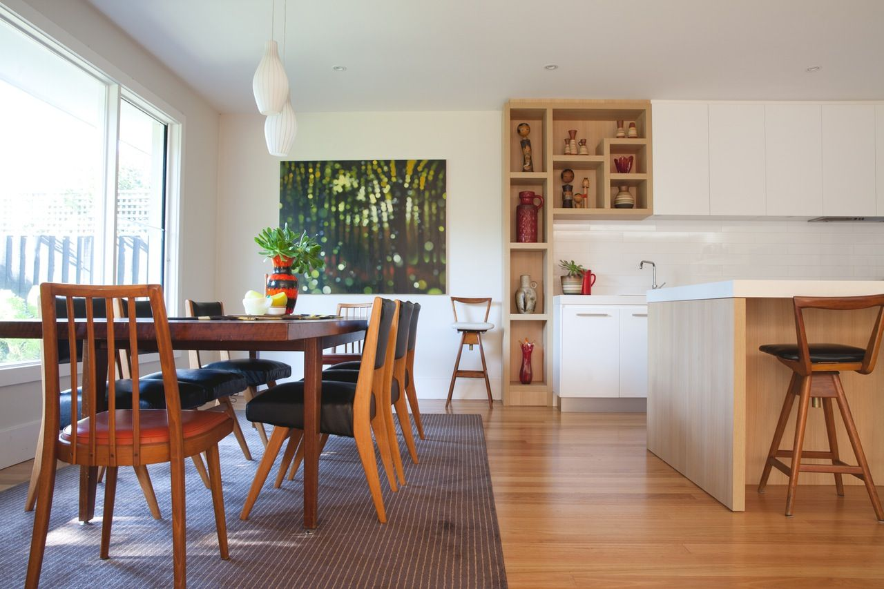 Colorful, Low-Key Retro Style in Melbourne