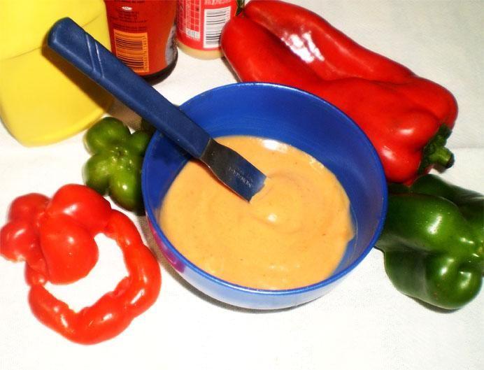 2 colheres (sopa) de maionese  - 6 colheres (sopa) de catchup  - 6 colheres (sopa) de mostarda  - 1 colher (sopa) de molho de pimenta forte  -