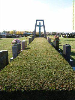 Concordia Cemetery Gardens Allen County Indiana Lugares Lugar