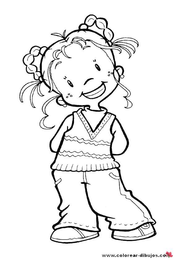 COLOREAR PARA NIÑOS  Dibujos de niños para imprimir y ...