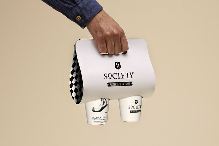 Society Pizzeria - Visual Identity on Behance