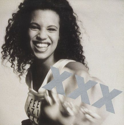 """For Sale - Neneh Cherry Kisses On The Wind - Poster Sleeve UK  7"""" vinyl single (7 inch record) - See this and 250,000 other rare & vintage vinyl records, singles, LPs & CDs at http://eil.com"""
