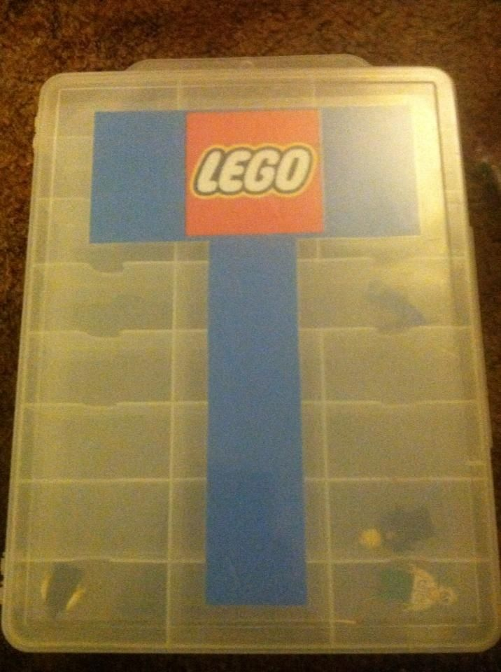 Repurposed Hot Wheels container for Lego storage Tyler Pinterest