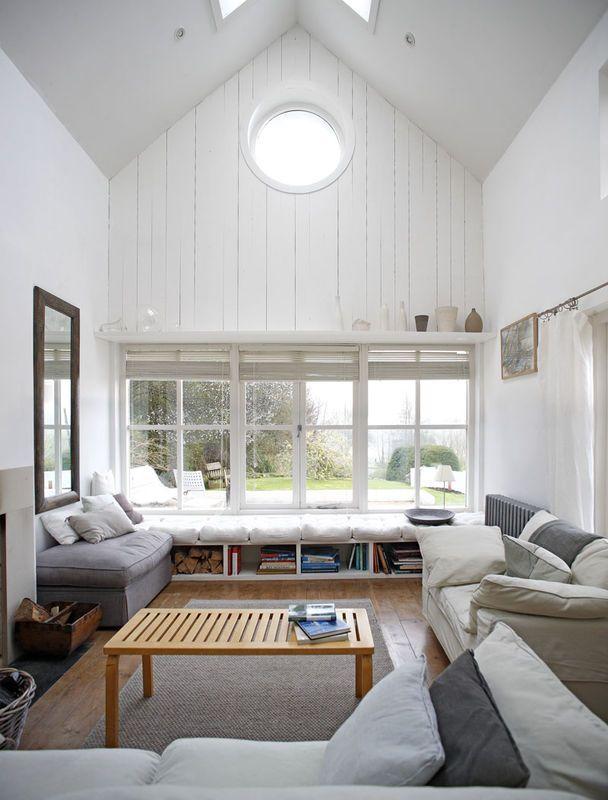 Siedzisko Pod Oknem Jak Urzadzic Salon Aranzacja I Wystroj Wnetrz Window Seat Design Modern Window Seat Modern Windows